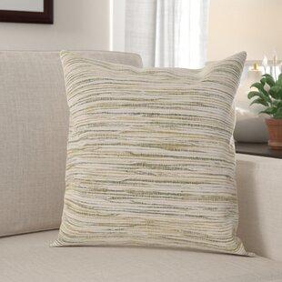 Dearing Cotton Throw Pillow Cover