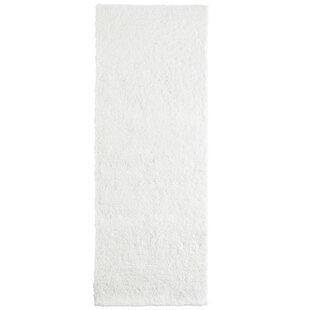 Fluffy White Area Rug