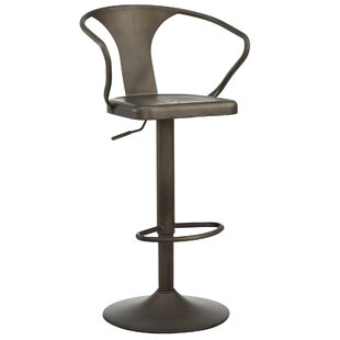 Adjustable Height Swivel Bar Stool by !nspire