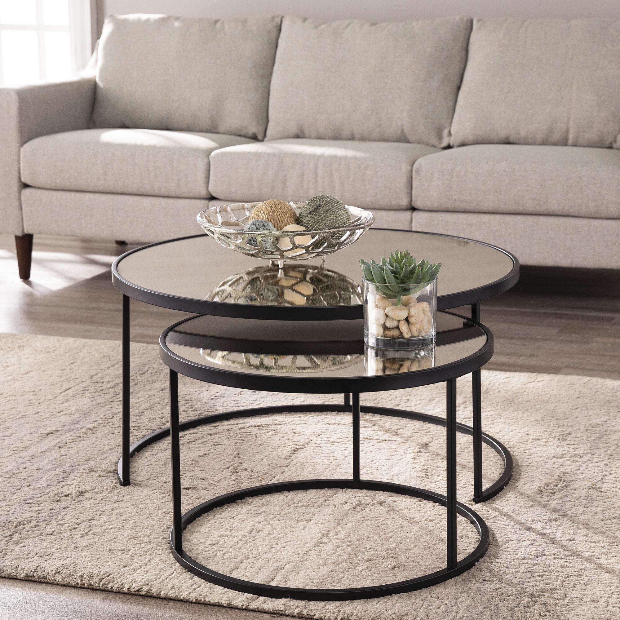 - Mercer41 Downham 2 Piece Coffee Table Set & Reviews Wayfair