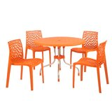 Sletten 5 Piece Dining Set