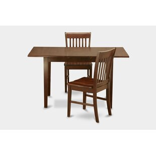 Three Posts Phoenixville 3 Piece Extendable Dining Set