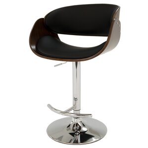 Kaffina Adjustable Height Swivel Bar Stool by Impacterra