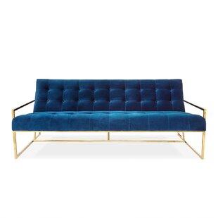 Jonathan Adler Goldfinger 2 Seat Sofa