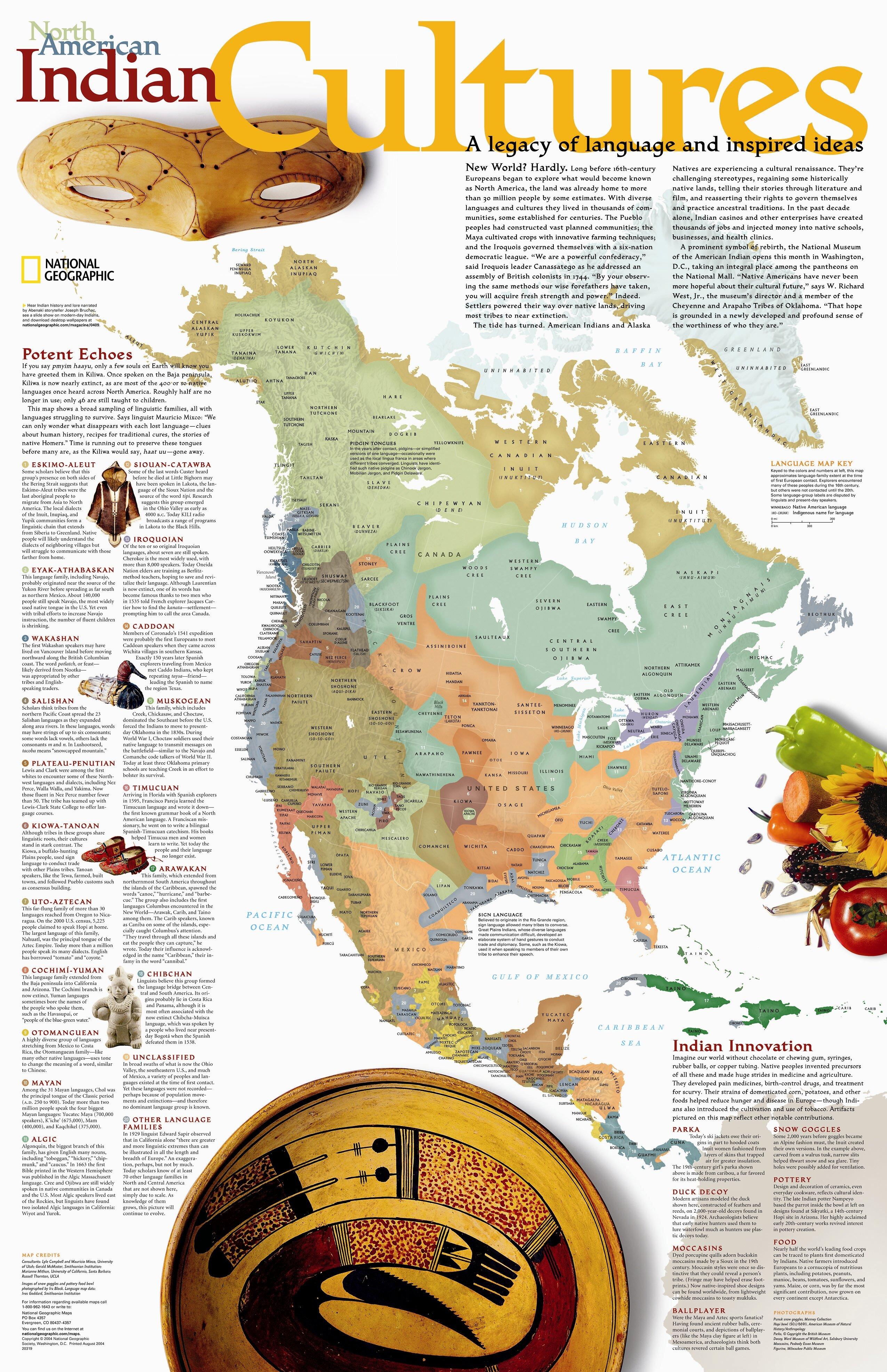 Native American Tribes Map California Native American