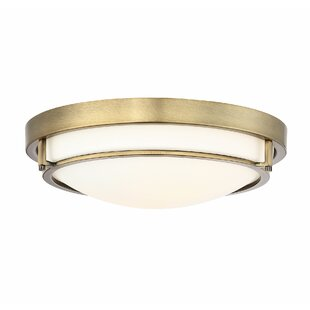 Modern flush mount lighting allmodern cambron 2 light flush mount aloadofball Choice Image