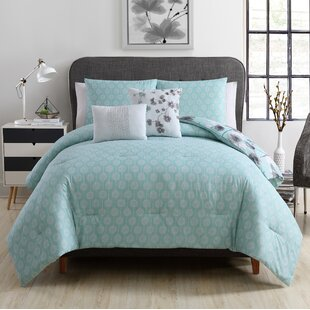 Alcorn 5 Piece Reversible Comforter Set
