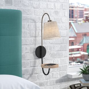Compare & Buy Backstrom 1-Light Armed Sconce By Mercury Row