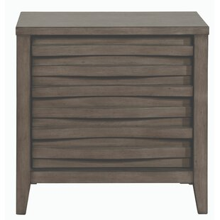 Walling Wooden 2 Drawer Nightstand by Brayden Studio