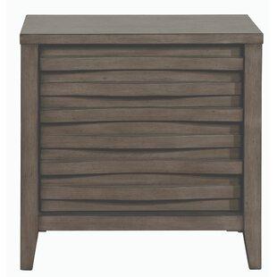 Walling Wooden 2 Drawer Nightstand by Brayden Studio