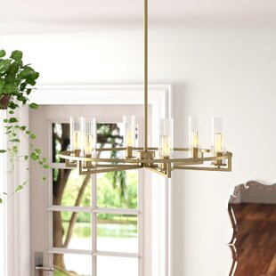 Hempel 6-Light Wagon Wheel Chandelier