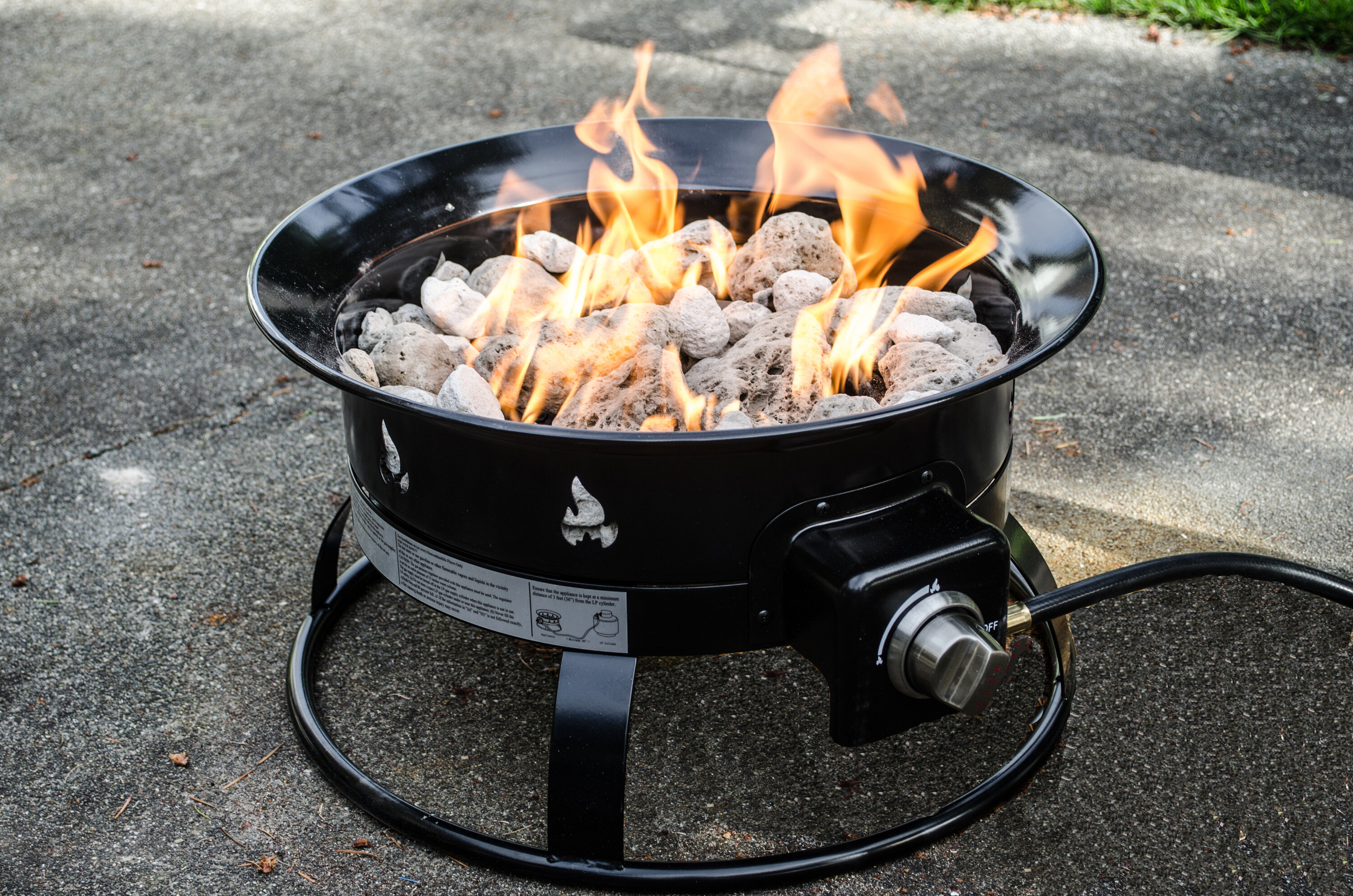 Heininger Heininger Portable Propane Outdoor Fire Pit & Reviews