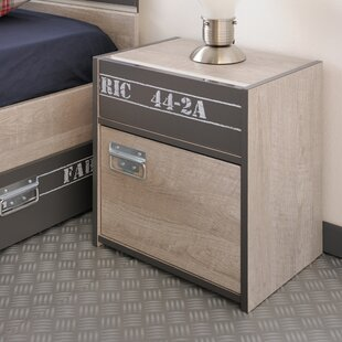 Joyce 1 Drawer Nightstand by Harriet Bee