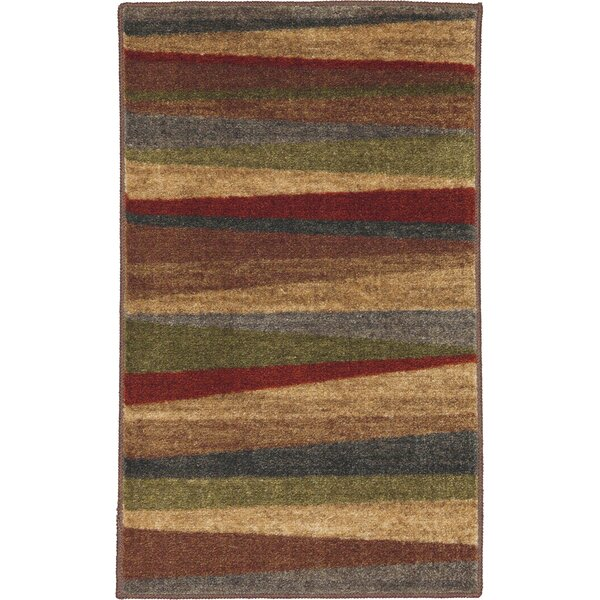 Wonderful Latitude Run Claireville Brown / Red Area Rug U0026 Reviews | Wayfair