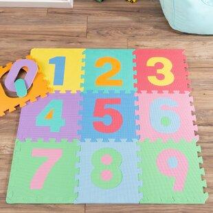 Best Reviews Foam Number Crawling Floor Mat ByHey! Play!