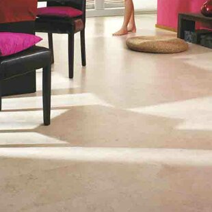 12 Tiles Cork Flooring In White Slate