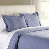 Jackie Chambray Duvet Cover byBirch Lane™ Heritage