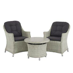 Ridgewood 2 Seater Bistro Set With Cushions Image