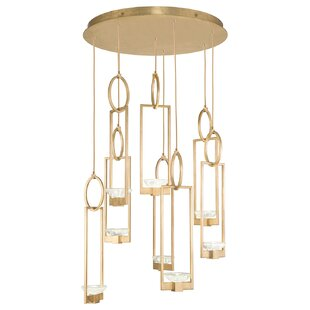 Delphi 8-Light Cluster Pendant by Fine Art Lamps