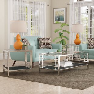 Orren Ellis Buffington 3 Piece Coffee Table Set