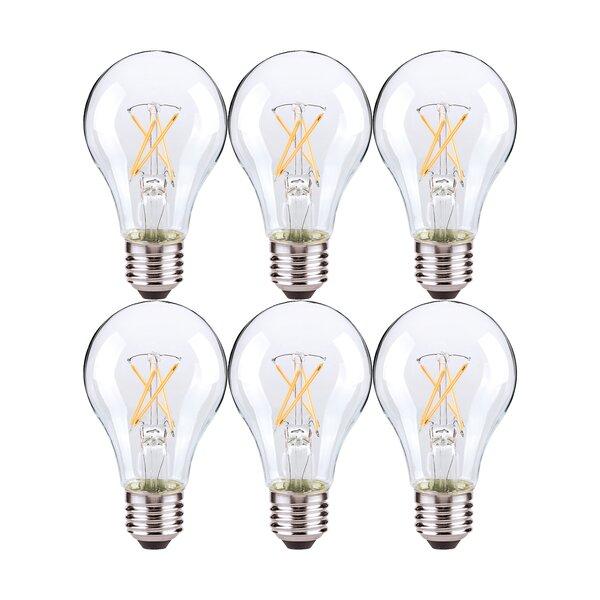 Nuvo Lighting 5 Watt 40 Watt Equivalent A19 Led Dimmable Light Bulb Warm White 2700k E26 Medium Standard Base Reviews Wayfair