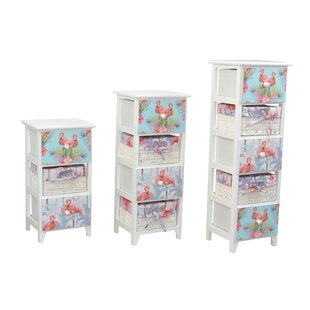 Mandalay 3 Drawer Chest By Bay Isle Home