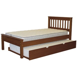 Treva Twin Slat Bed with Trundle by Harriet Bee