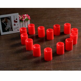 Decorative LED Unscented Votive Candle (Set of 6)