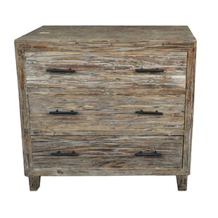 Union Rustic Pantoja Rustic 3 Drawer Chest