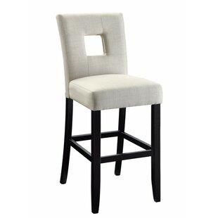 Herchenroether Counter Height Upholstered Dining Chair (Set of 2) Latitude Run