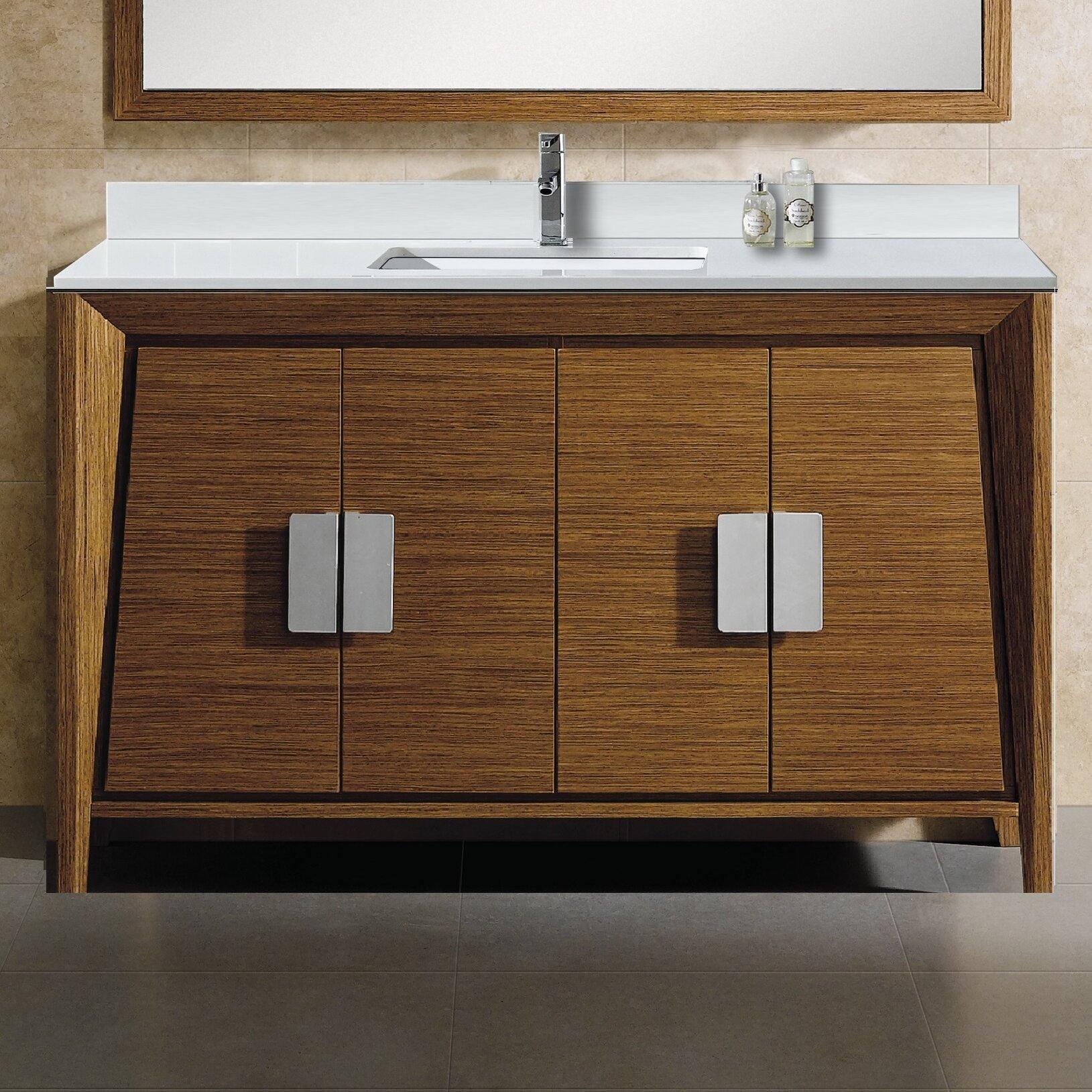 Langley Street Emerson Single Bathroom Vanity Set Wayfair - Bathroom vanities northridge ca