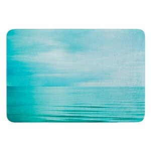 Calm Sea by Iris Lehnhardt Bath Mat