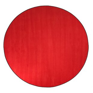 Americolors Rowdy Red Area Rug by Flagship Carpets