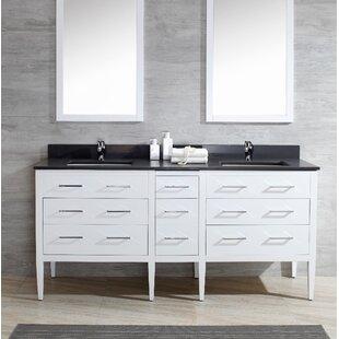 Sydney 73 Double Bathroom Vanity Set By Harper Beach