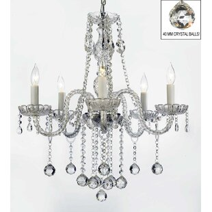 House of Hampton Kiger 5-Light Candle Sty..
