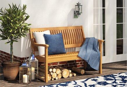 Sol 72 Outdoor Romig Wooden Bench Wayfair Co Uk