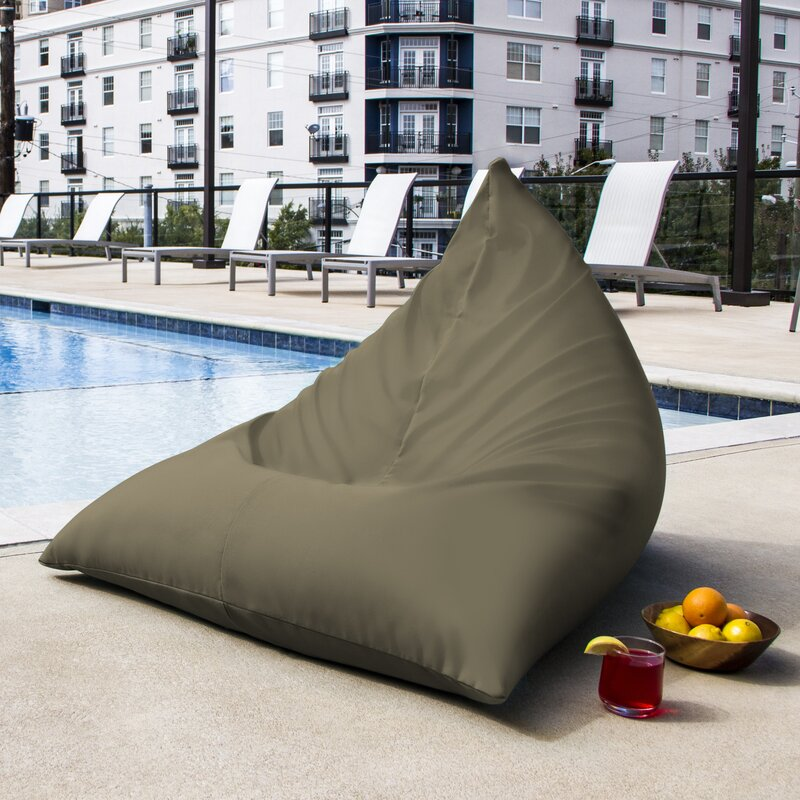... Blue Bean Bag Chairs; SKU: JAX1299. default_name - Jaxx Twist Outdoor Bean Bag Chair & Reviews Wayfair