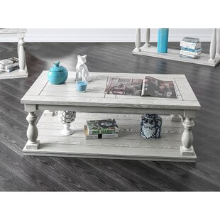 Hedley Rustic Coffee Table by Ophelia & Co.