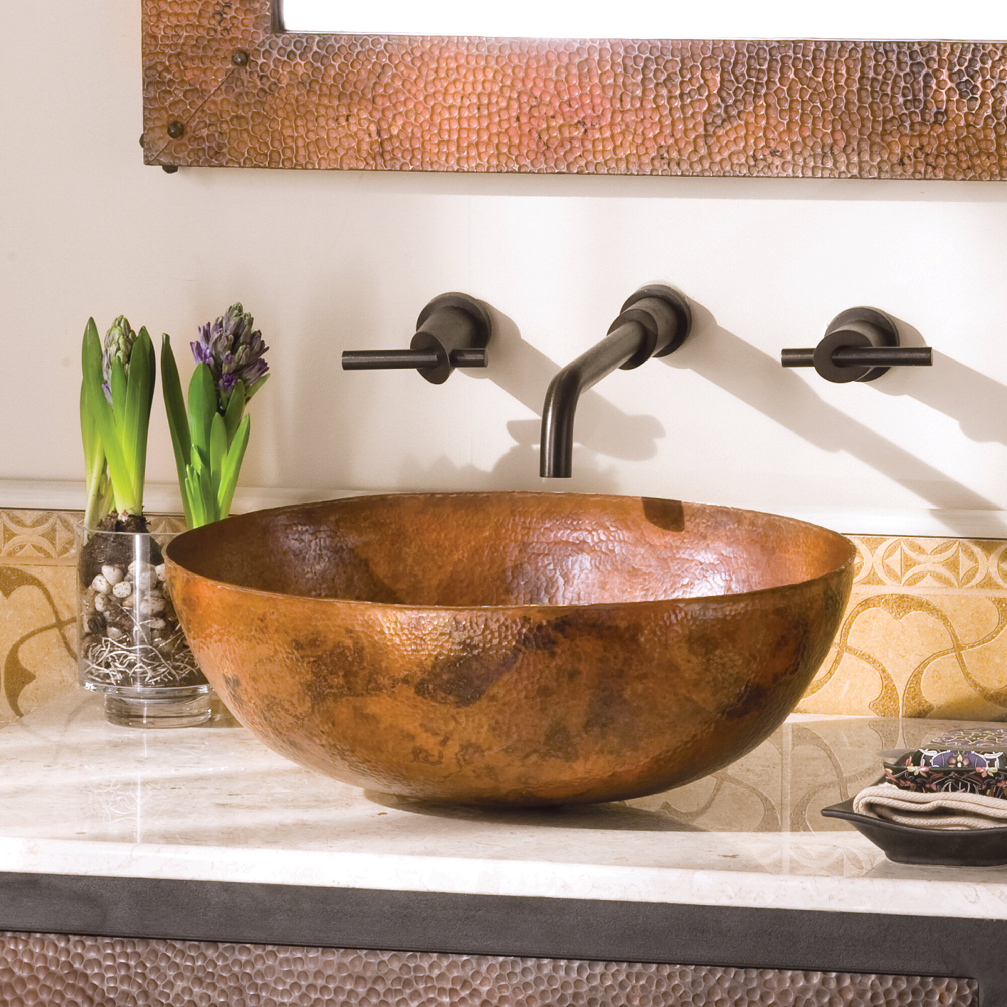 Native Trails Maestro Metal Oval Vessel Bathroom Sink Wayfair