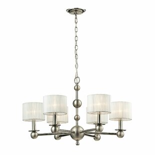 Eligah 6-Light Shaded Chandelier by House of Hampton