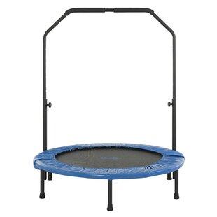 Upper Bounce 3' Mini Rebounder Foldable Fitness Trampoline