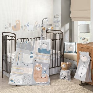 Little Llama 4 Piece Cribe Bedding Set