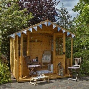 Elene 8 X 7 Ft. Shiplap Summer House Image