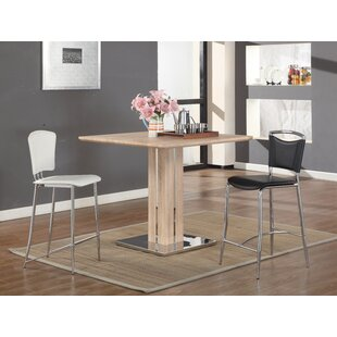 lyusha square dining table 36 inch square dining table   wayfair  rh   wayfair com