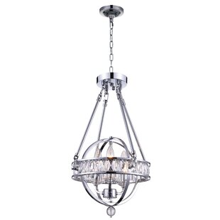 Arkansas 3-Light Globe Pendant by CWI Lighting