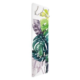 Monstera Wall Mounted Coat Rack By Symple Stuff