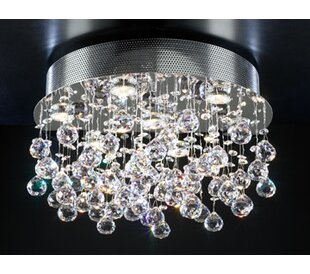 Everly Quinn Kettering 7-Light Semi Flush Mount