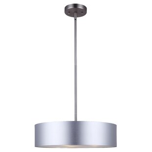 Modern drum pendant lighting frederick 3 light pendant aloadofball Choice Image