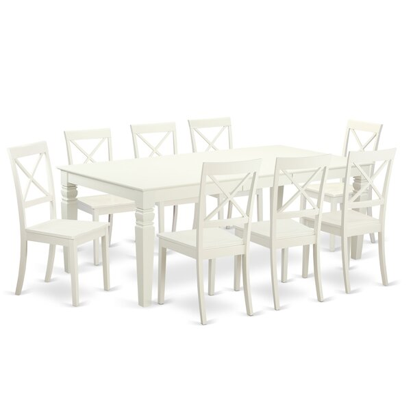 Darby Home Co Belavida 9 Piece Dining Set U0026 Reviews | Wayfair