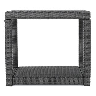 Stephany Wicker Side Table